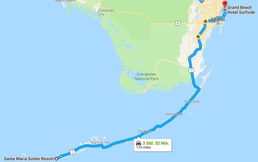Route Miami