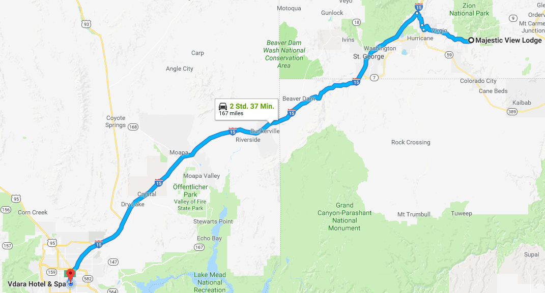 Route Vegas