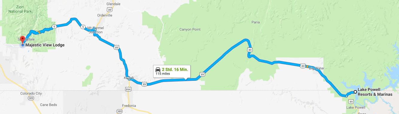 Route Springdale